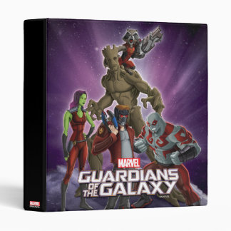 Guardians of the Galaxy | Group In Space 3 Ring Binder