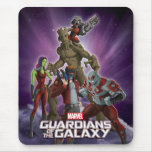 Guardians of the Galaxy Group in Space Mouse Pad