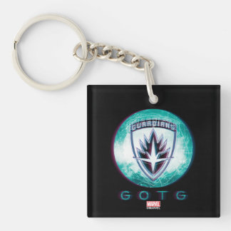 Guardians of the Galaxy | Interlaced Badge Keychain