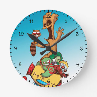 Guardians of the Galaxy | Mechanical Rocket Ride Round Clock