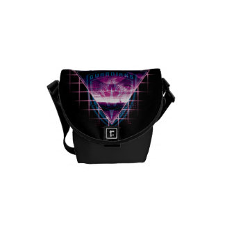 Guardians of the Galaxy | Neon Superimposed Logo Messenger Bag