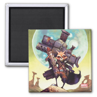 Guardians of the Galaxy | Rocket Armed & Ready Magnet