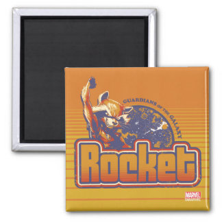 Guardians of the Galaxy | Rocket Character Badge Magnet