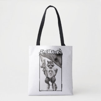 Guardians of the Galaxy | Rocket Comic Cover Art Tote Bag