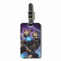 Guardians of the Galaxy | Rocket & Groot Attack Luggage Tag