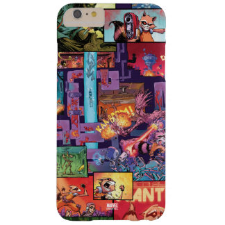 Guardians of the Galaxy | Rocket & Groot Pattern Barely There iPhone 6 Plus Case