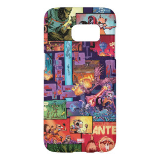 Guardians of the Galaxy | Rocket & Groot Pattern Samsung Galaxy S7 Case