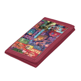 Guardians of the Galaxy | Rocket & Groot Pattern Trifold Wallet