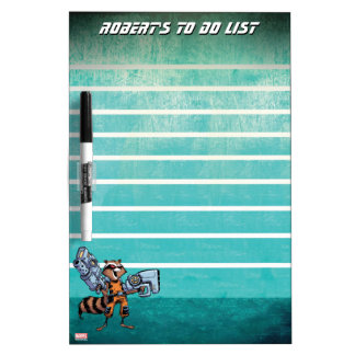 Guardians of the Galaxy | Rocket Mugshot Dry-Erase Board