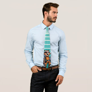 Guardians of the Galaxy | Rocket Mugshot Tie