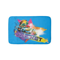 Guardians of the Galaxy | Rocket Neon Graphic Bathroom Mat