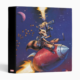 Guardians of the Galaxy | Rocket Riding Missile Binder