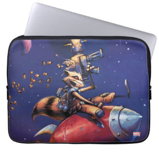 Guardians of the Galaxy | Rocket Riding Missile Computer Sleeve