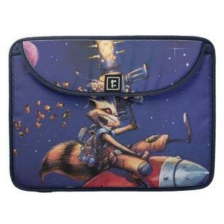 Guardians of the Galaxy | Rocket Riding Missile MacBook Pro Sleeve