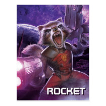 Guardians of the Galaxy | Rocket With Guns Postcard