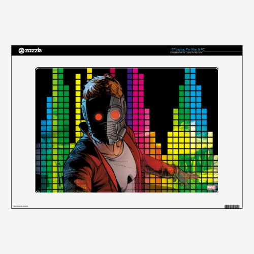 Guardians of the Galaxy | Star-Lord DJ Laptop Decal