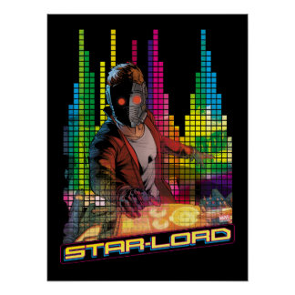 Guardians of the Galaxy | Star-Lord DJ Poster