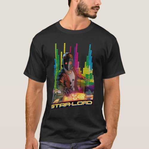 Guardians of the Galaxy | Star-Lord DJ T-Shirt