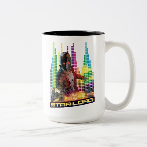 Guardians of the Galaxy | Star-Lord DJ Two-Tone Coffee Mug