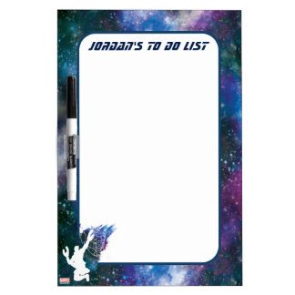 Guardians of the Galaxy | Star-Lord Galaxy Cutout Dry-Erase Board