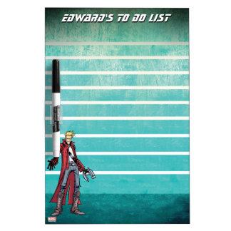 Guardians of the Galaxy | Star-Lord Mugshot Dry-Erase Board