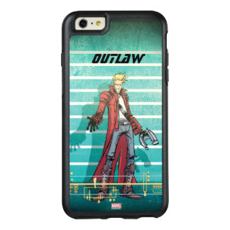 Guardians of the Galaxy | Star-Lord Mugshot OtterBox iPhone 6/6s Plus Case