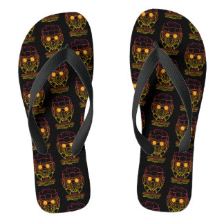 Guardians of the Galaxy | Star-Lord Neon Outline Flip Flops