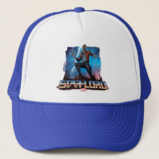 Guardians of the Galaxy | Star-Lord On Planet Trucker Hat