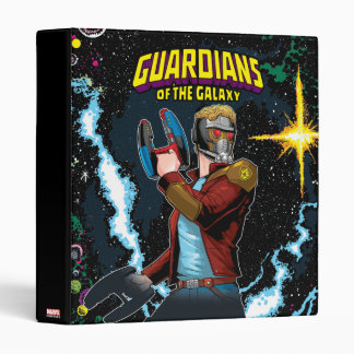Guardians of the Galaxy | Star-Lord Retro Comic Binder