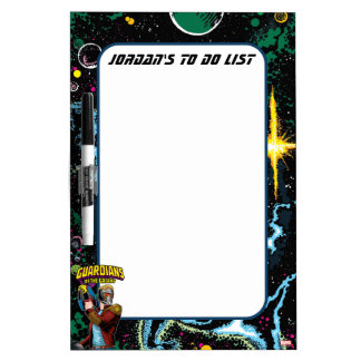 Guardians of the Galaxy | Star-Lord Retro Comic Dry-Erase Board