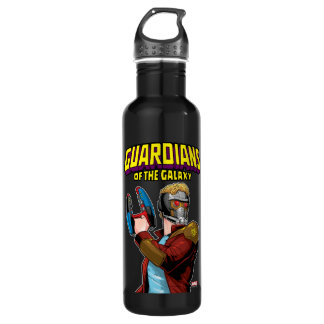 Guardians of the Galaxy | Star-Lord Retro Comic Water Bottle