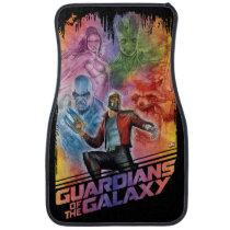 Guardians of the Galaxy | Technicolor Crew Art Car Floor Mat