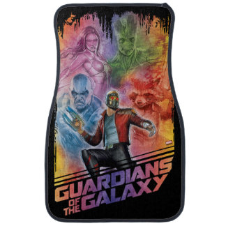 Guardians of the Galaxy | Technicolor Crew Art Car Floor Mat