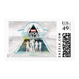 Guardians of the Galaxy | Triangle Outline Crew Postage