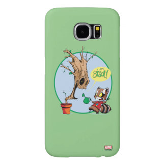 Guardians of the Galaxy | Watering Groot Samsung Galaxy S6 Case