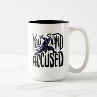 Guardians of the Galaxy | You Stand Accused Two-Tone Coffee Mug