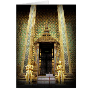 Guardians Of The Golden Palace Thailand Photo Card