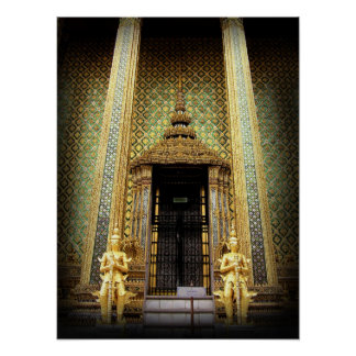 Guardians Of The Golden Palace Thailand Photo Print