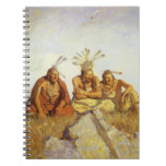 Guardians War or Peace by NC Wyeth, Vintage West Notebooks