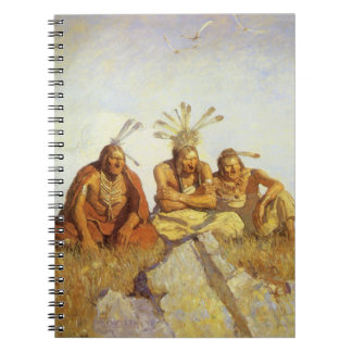 Guardians War or Peace by NC Wyeth Vintage West Notebooks