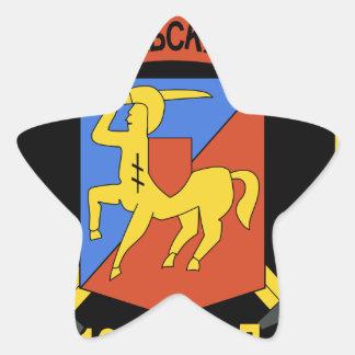 Guardias Airb del stofmerker de los styrkers de De Calcomanía Cuadrada