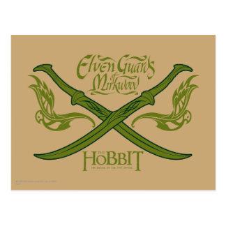 Guardias de Elven del icono de la película de Tarjetas Postales
