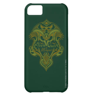 Guardias de Elven del icono del escudo de Mirkwood Carcasa Para iPhone 5C