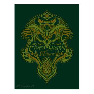 Guardias de Elven del icono del escudo de Mirkwood Postales