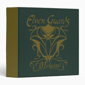 """Guardias de Elven del nombre de Mirkwood Carpeta 1 1/2"""""""