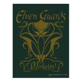 Guardias de Elven del nombre de Mirkwood Postales