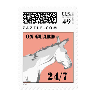 Guardias de seguridad de la mula del burro del envio