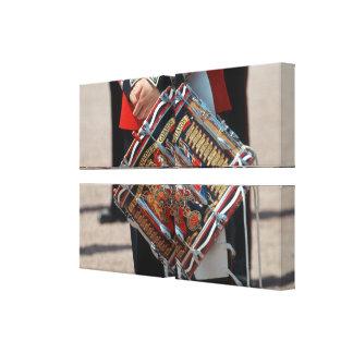 Guardias del granadero del tambor - Londres Impresiones De Lienzo