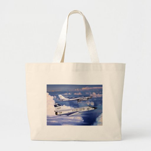 Guarding America's Skies by William S. Phillips Canvas Bag