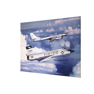 Guarding Americas Skies William S Phillips Print Canvas Print